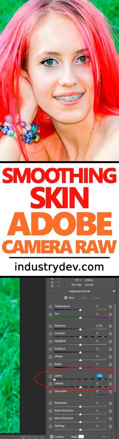 How to Smooth Skin with Adobe Camera Raw: If you're a professional photographer, you need to touch up photos. And generally speaking, one of the most important touch-ups is the smoothing and softening of skin. Imperfect or rough skin has no place in photos that are being paid for, so it's prudent to learn a method that can cure the imperfect epidermis blues. In today's post, I cover such a method and explain how to go about making average into beautiful while using Adobe Camera Raw.