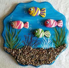 Lo stagno -Painted Stones di Rosaria Gagliardi – Page 494129390346832419 – BuzzTMZ Stone Crafts, Rock Crafts, Diy Arts And Crafts, Creative Crafts, Clay Crafts, Paper Crafts, Diy Paper, Pebble Painting, Pebble Art