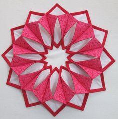 Ever After Valentine Fold N Stitch Wreath Kit