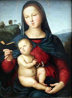 Raffaello Sanzio - Madonna Solly