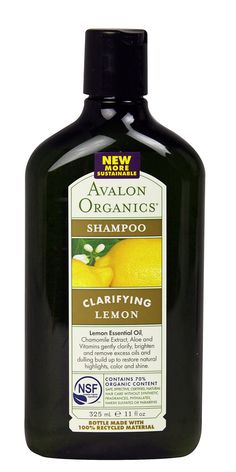 Avalon Organics Clarifying Lemon Shampoo- Terez, the Naturalicious Hair Blogger, promoted this shampoo as removing excess oils and product build-up, restoring hair's natural sheen.  She also warned that this product includes shea butter, a product which some locked heads use and other don't. - See more at: http://naturalicioushair.com/2011/12/23/how-to-remove-product-build-up-in-locked-natural-hair/#sthash.r5bjbD3r.dpuf