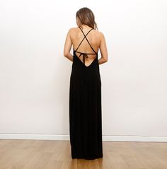 Noir de robe de demoiselle d'honneur, robe de bal, robe Maxi