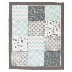 Uptown Giraffe 5 Piece Baby Bedding Set with Bumper and Diaper Stacker by The Peanut Shell *** You can get additional details at the image link. (This is an affiliate link) Baby Boy Nursey, Baby Crib Diy, Baby Crib Bedding Sets, Crib Sets, Baby Boy Rooms, Baby Boy Nurseries, Baby Cribs, Giraffe Nursery, Giraffe Baby
