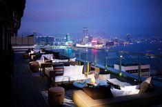 Hong Kong roof top bars - Sevva Restaurant & Rooftop Bar