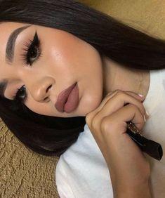 Gorgeous Makeup: Tips and Tricks With Eye Makeup and Eyeshadow – Makeup Design Ideas Makeup On Fleek, Cute Makeup, Glam Makeup, Gorgeous Makeup, Pretty Makeup, Skin Makeup, Makeup Inspo, Makeup Inspiration, Beauty Makeup