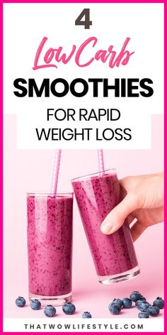 4 Healthy smoothies for energy and weight loss, instead of soda. Click to get 4 simple and healthy smoothies recipes to give a boost to your weight loss. They are simple to do with a simple blender or a nutribullet for a healthy breakfast. These fruit smoothies with almond milk can be served as meal replacement and hence increase the fat burning process and make you lose weight fast. #healthysmoothies #smoothiesforweightloss #smoothieswithalmondmilk
