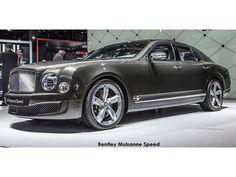 Research Bentley Mulsanne Mulsanne Speed Car