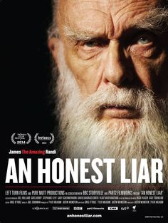 Rotten Tomatoes with Critic Score - 97% and User Score-90%. 'An Honest Liar', A Documentary (true story) About Famed Magician and Skeptic James Randi