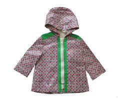 FRENCH VINTAGE 70's / kids / hooded raincoat by Prettytidyvintage