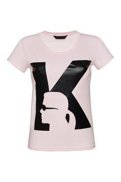 Boski t-shirt z Karlem