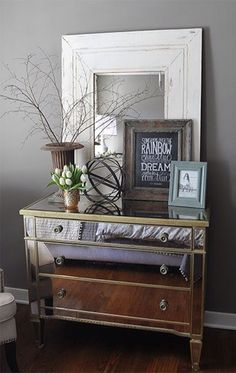 Wall color is Graystone by Benjamin Moore