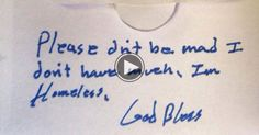 A Homeless Person Left A Note In Church. What Was Inside Choked Me UP.