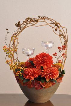 Dahlia, Chrysanthemum, Tripterygium, Smilax glabra, LED candle
