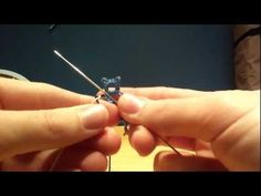 ▶ Needle Tatting: Catherine Wheel Join - YouTube