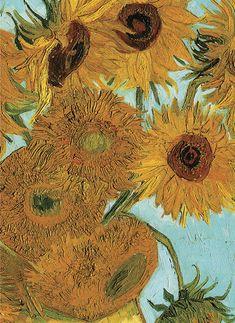 Van Gogh's Sunflowers Notebook (Mini Dover)