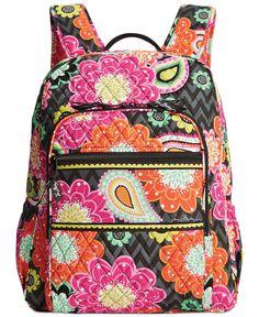 9e528a0f89fa Vera Bradley Campus Backpack Vera Bradley Backpack