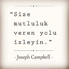 #josephcampbell #mutluluk #motivasyon #kişiselgelişim #farkındalık #çekimyasası #yaşam #senimutluedenşeyleridahaçokyap Comedy Zone, Explanation Text, Cute Backgrounds, Do You Like It, Note To Self, Cute Quotes, Read More, Reiki, Cool Words