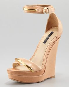 800a9e2e6ecc Katlyn Wedge Sandal by Rachel Zoe at Neiman Marcus I want these for spring