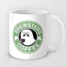 Brewsters Coffee Mug by Stephanie Bayles | Society6