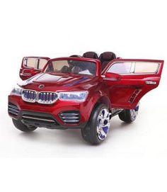 VENTA BMW X3 SYTLE 12V INFANTIL ROJO. MANDO RC PARENTAL. 2.4G RUEDAS NEUMÁTICAS ASIENTO PIEL. 12PKCF000RP