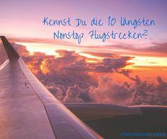 Du glaubst, Du bist schon mal lange geflogen? Hier sind die 10 längsten Flugstrecken der Welt ,http://bit.ly/1awpTl3