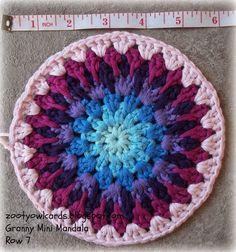 crochet mandala                                                                                                                                                                                 More