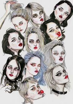 Sky Ferreira Collage Art Print by Lucas David | Society6