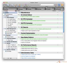 OmniFocus Series Tom Jenkins Initial Data Set