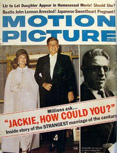 "Former First Lady, Jacqueline Kennedy marries Greek shipping tycoon Aristotle Onassis, becoming ""Jackie-O"""