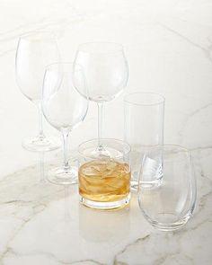 Mikasa Laura Stemless Wine Glass, Set of 4