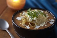 Celebrity Chef Aaron Sanchez' Corn Tortilla Soup Recipe