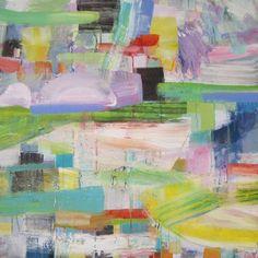 "Saatchi Art Artist Michelle Daisley Moffitt; Painting, ""Morning Landscape"" #art"