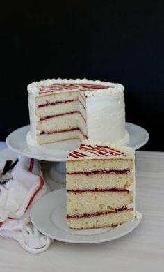 Raspberry White Chocolate Cake|The Crafting Foodie