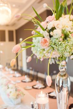 Bridal Shower Inspiration Week: Chicago Bridal Shower by Sarah Drake Design + Pistil & Vine | Style Me Pretty