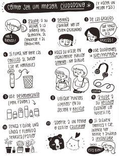 Usted - Cómo ser un mejor ciudadano  (Ilustración de Frannerd)