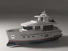 yummy euro-style trawler yacht