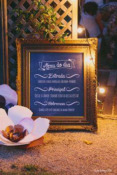 Papelaria personalizada,paper goods, identidade visual, casamento, boho wedding,bride,placa,chalkboard,menu do dia,love, amor, rustic, vintage, ninguem mais tem