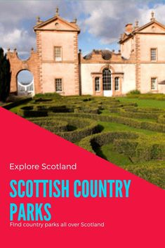 There are plenty of country parks throughout Scotland, great days out for the whole family.