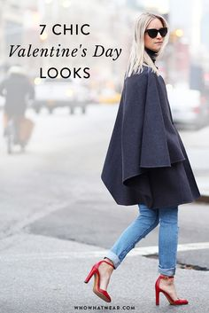 Romantic date? Girl's night? 7 fool-proof outfits to get your through Valentine's Day.