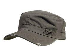b02f7880ea0 Jeep Distressed Cadet Cap Army Green 1322