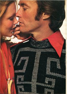 Clint Eastwood in Playboy,