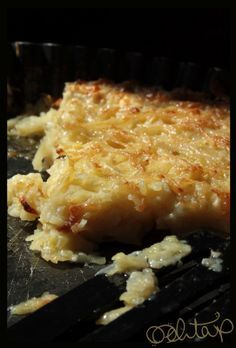 Kljukuša: A Bosnian Specialty  (grated potatoes mixed with flour and water and baked in an oven)