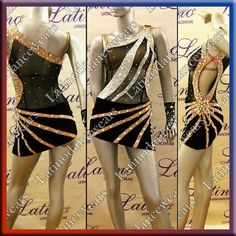 LATIN RHYTHM SALSA BALLROOM DANCE DRESS COMPETITION - SIZE S, M, L (LT726)