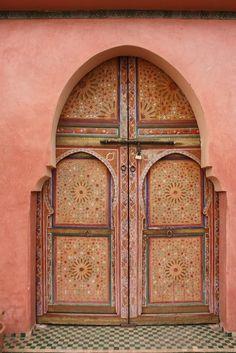 Africa |  Door in Marrakesh, Morocco   ..rh