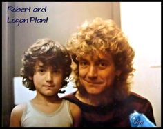 Robert Plant and his son, Logan Photographer Bruno Bruno Photoartist LIsaKay Allen/PassionFeast