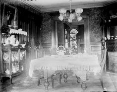 """Dining room 1890's"""