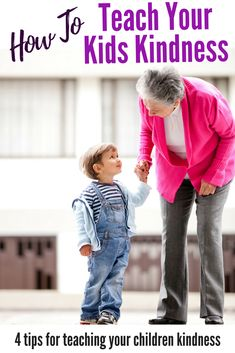 Wanting to encourage more kindness from your kids? Check out how to teach kids kindness by using these 4 tips for teaching children kindness! Parenting tips for the modern parent