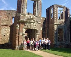 """See 10 photos and 4 tips from 45 visitors to Houghton House. """"The best place to play hide and seek in the county, and very safe for children. Houghton House, Walking Club, Nordic Walking, Four Square, The Good Place, Park, Building, Places, Travel"""