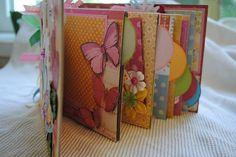 handmade paper bag album   #scrapbook  #scrapbooking  #handmade  #paperbagalbum  #album #pockets #pictures juliespieces