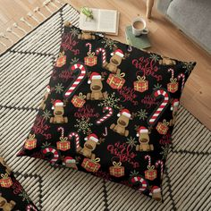 Floor Pillows, That Look, My Arts, Gift Wrapping, Flooring, Art Prints, Printed, Awesome, Christmas